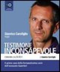 Gianrico Carofiglio legge Testimone inconsapevole [CD]